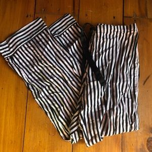 Polo Ralph Lauren Pink striped Pj pants